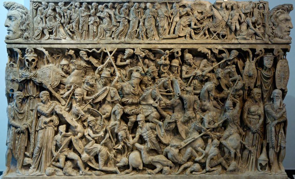 The Portonaccio Sarcophagus (190-195 CE)