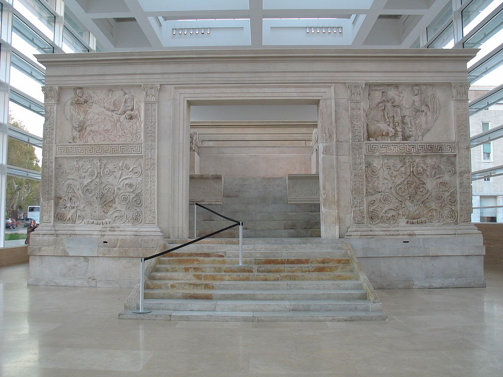 Ara Pacis: frontal view