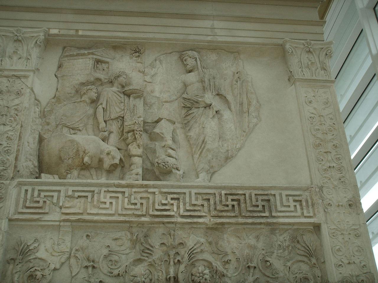 Ara Pacis: Aeneas