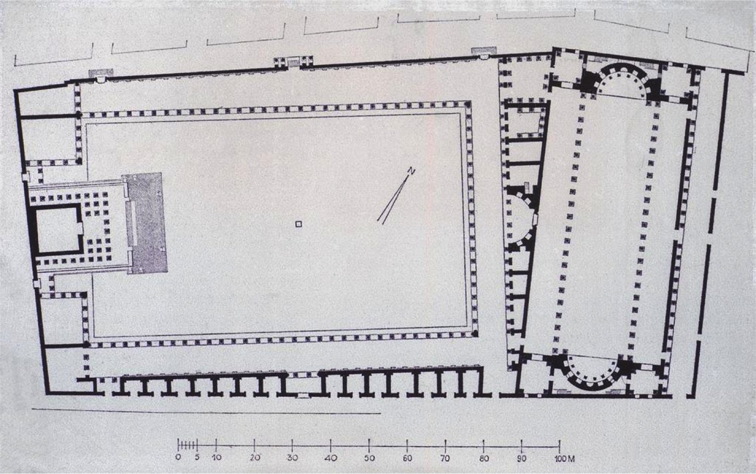 Plan of the Severan Forum