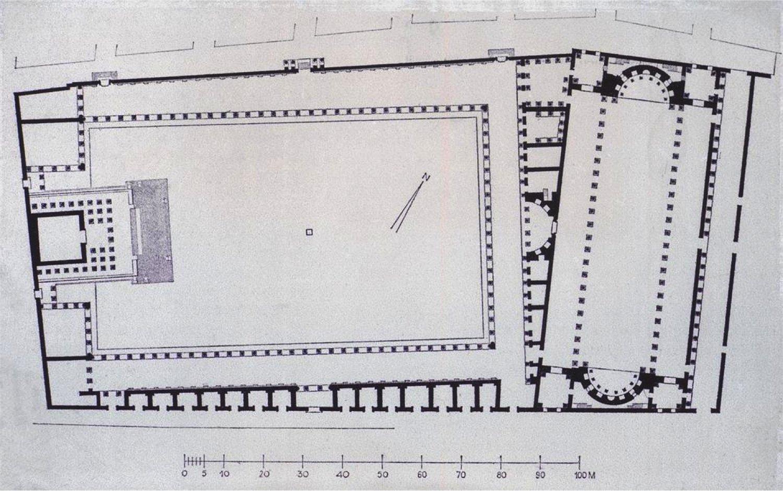 Plan of the Severan Forum