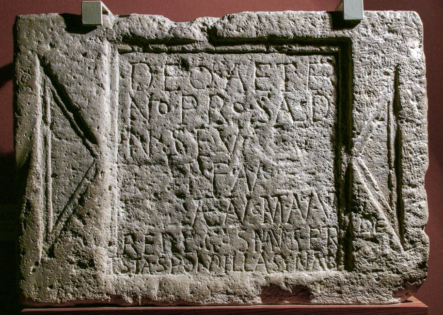 Jewish dedication to Alexander Severus (CIL III, 3327)