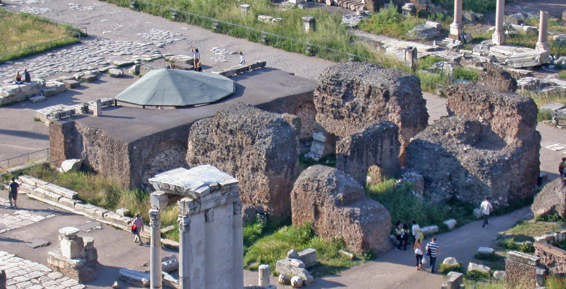 The Temple of Divus Iulius