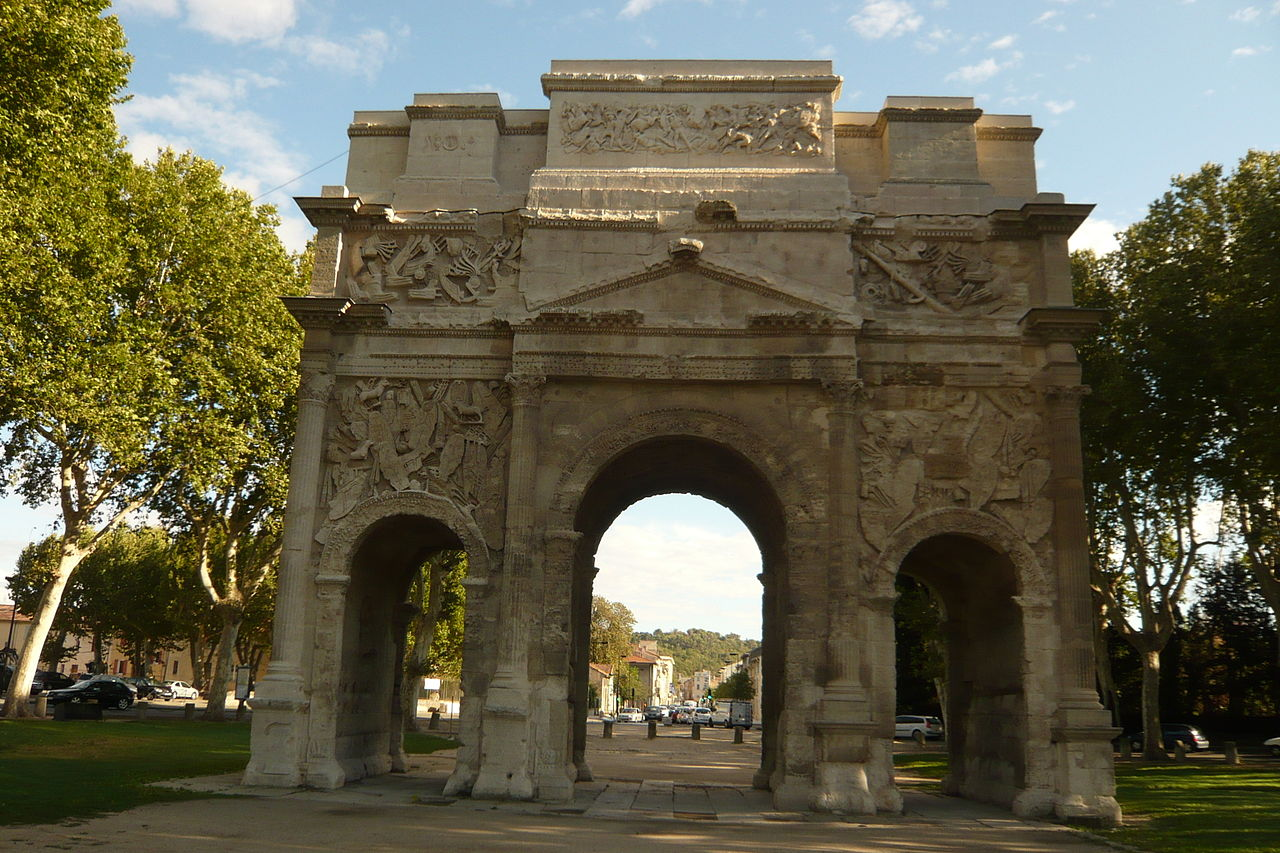 Triumphal Arch of Orange (3)