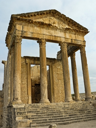 Capitol of Dougga