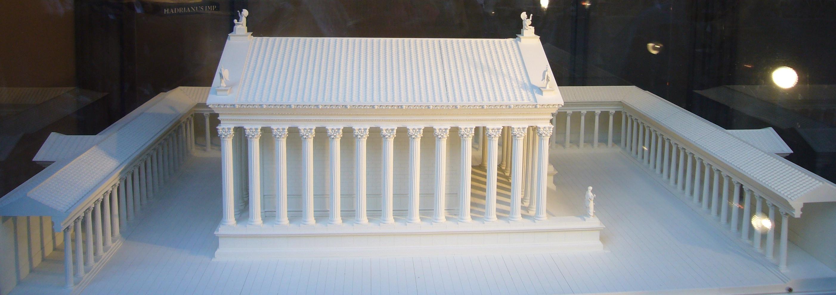 Reconstruction of the Hadrianeum