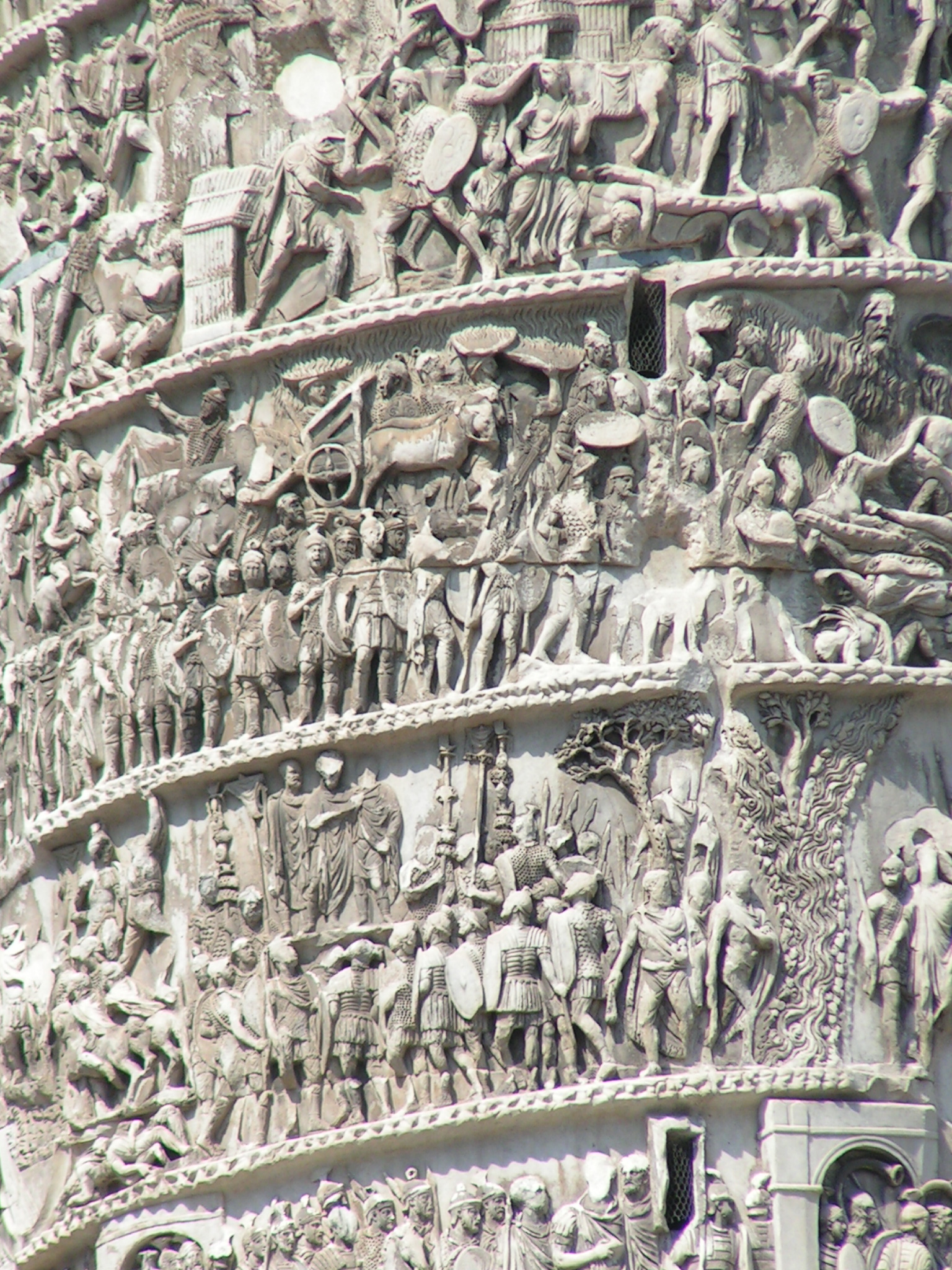 Detail of the Column of Marcus Aurelius