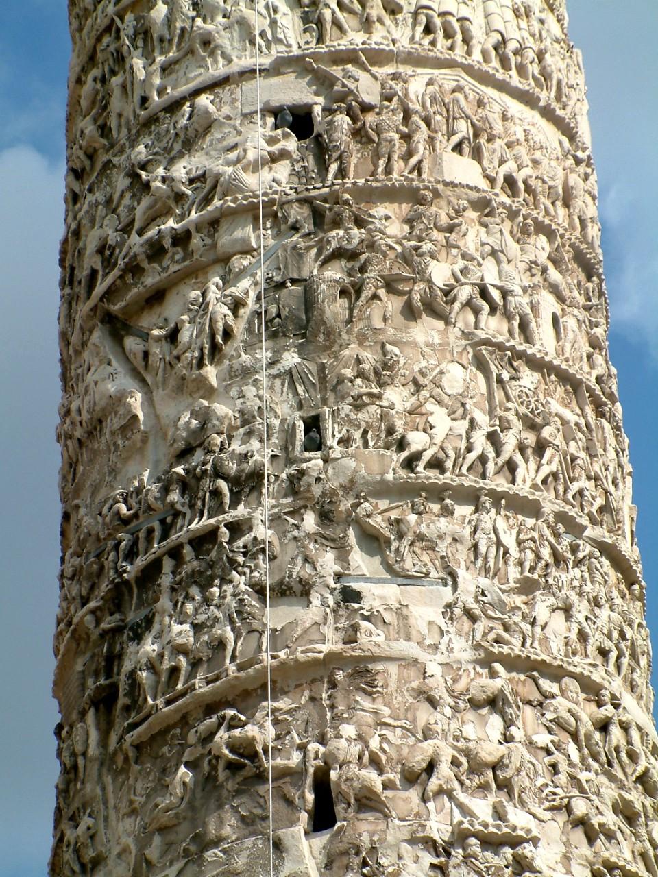 Detail of the Column of Marcus Aurelius