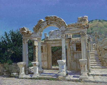 Temple of Hadrian – Ephesus - Portal
