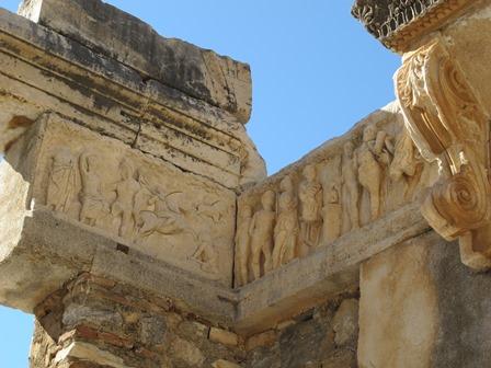 Temple of Hadrian – Ephesus – Frieze