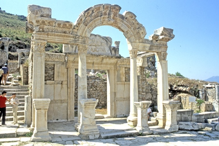 Temple of Hadrian – Ephesus – General View
