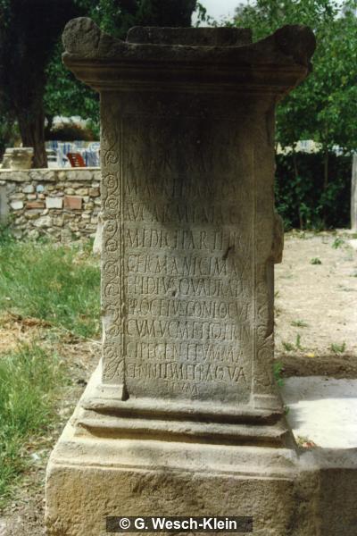 Altar for Marcus Aurelius (AE 1957, 202)