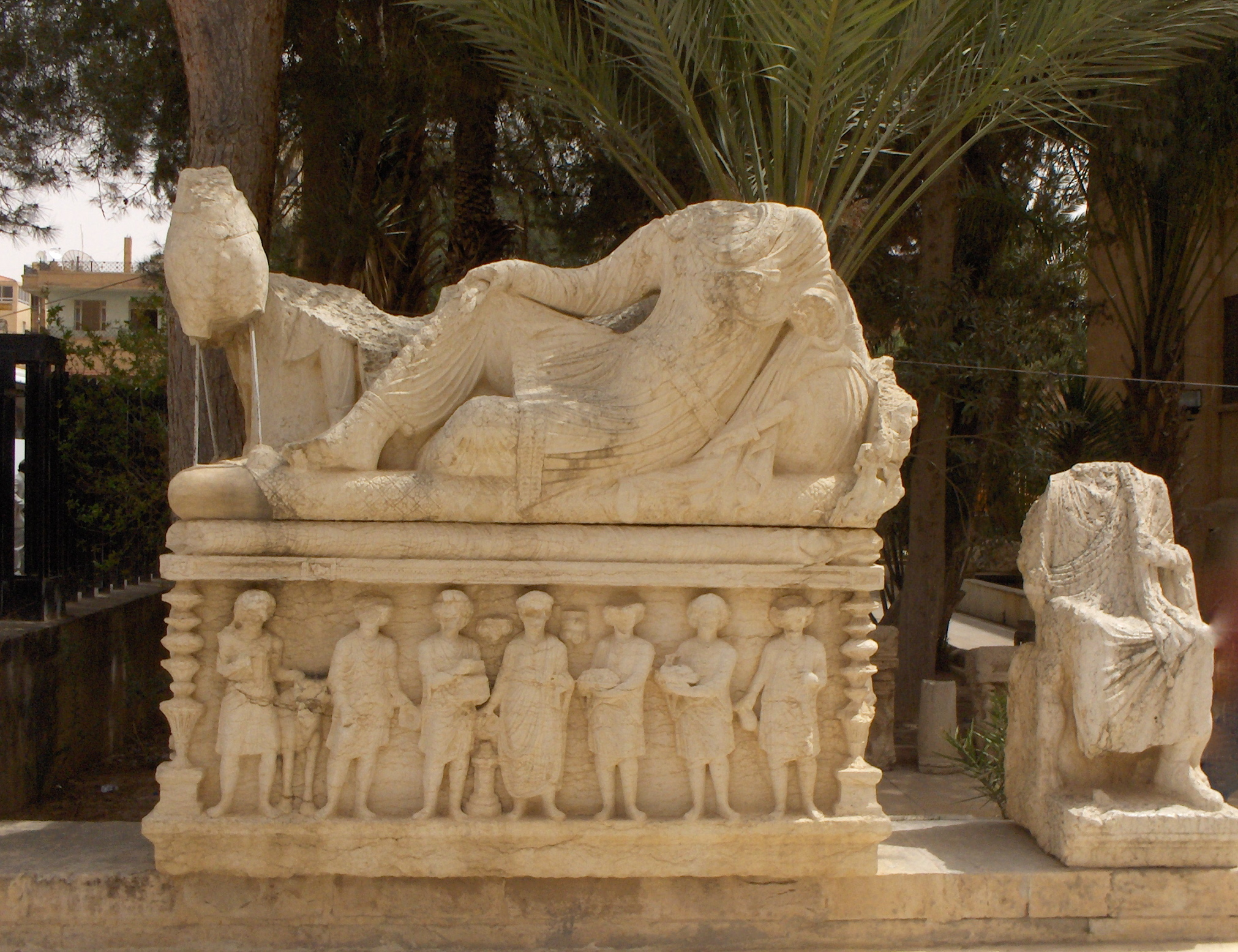 Garden of Palmyra Archaeological Museum,