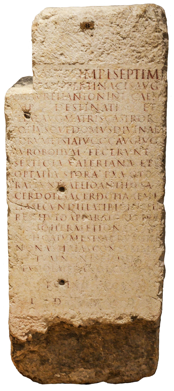 Lugdunum Altar (CIL XIII, 1754)