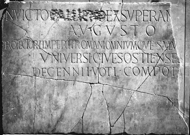Dedication to Gallienus, CIL XIV, 5334