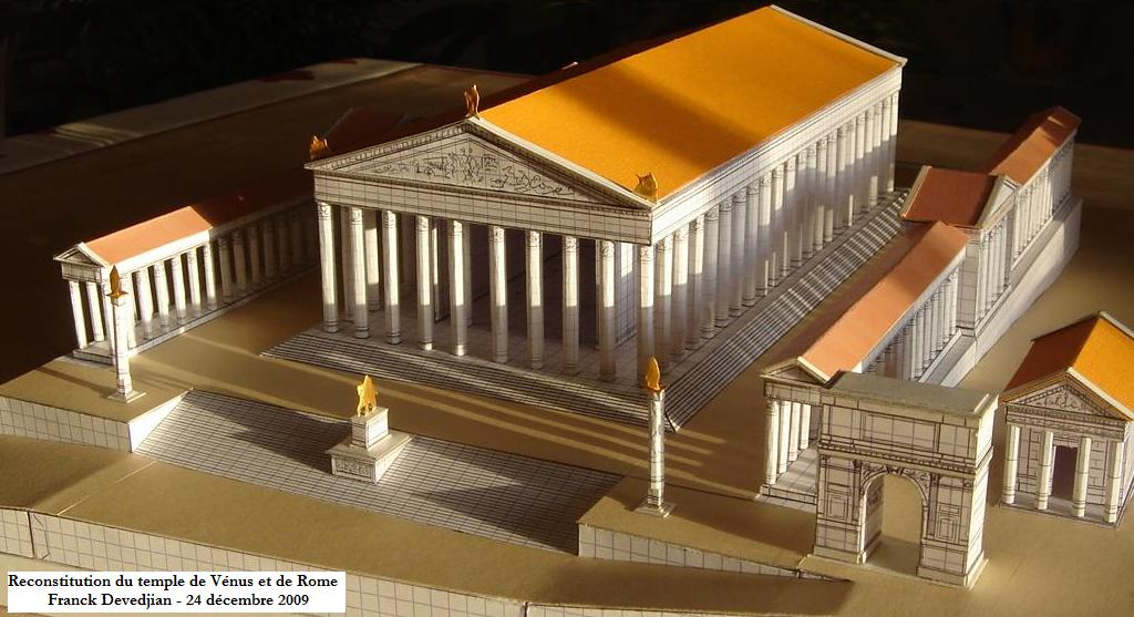 Reconstruction of the Temple of Venus and Roma