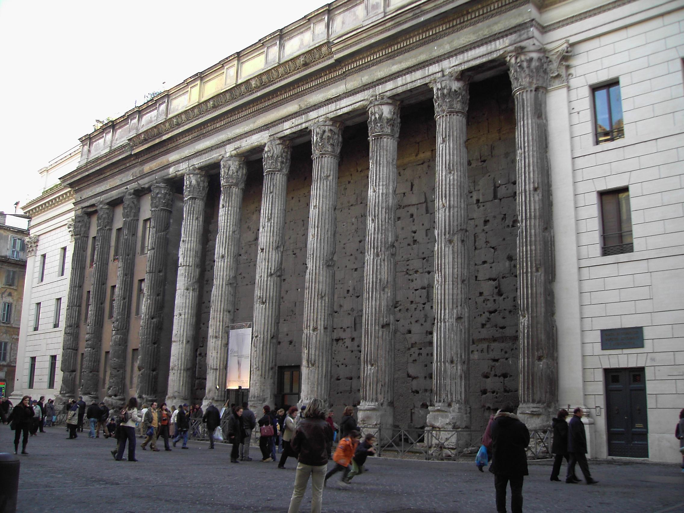 View of Columnade