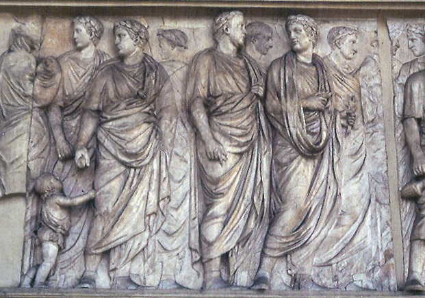 Ara Pacis: Relief – North Side