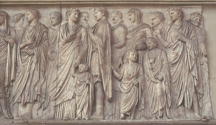 Ara Pacis: Relief – South Side