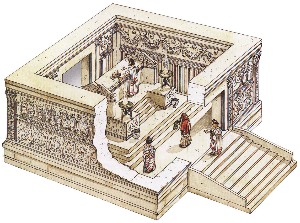 Reconstruction of the Ara Pacis