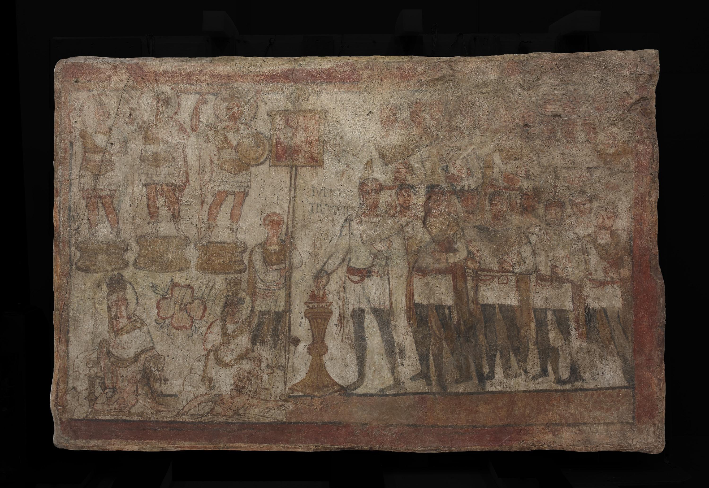 Temple of Bel fresco
