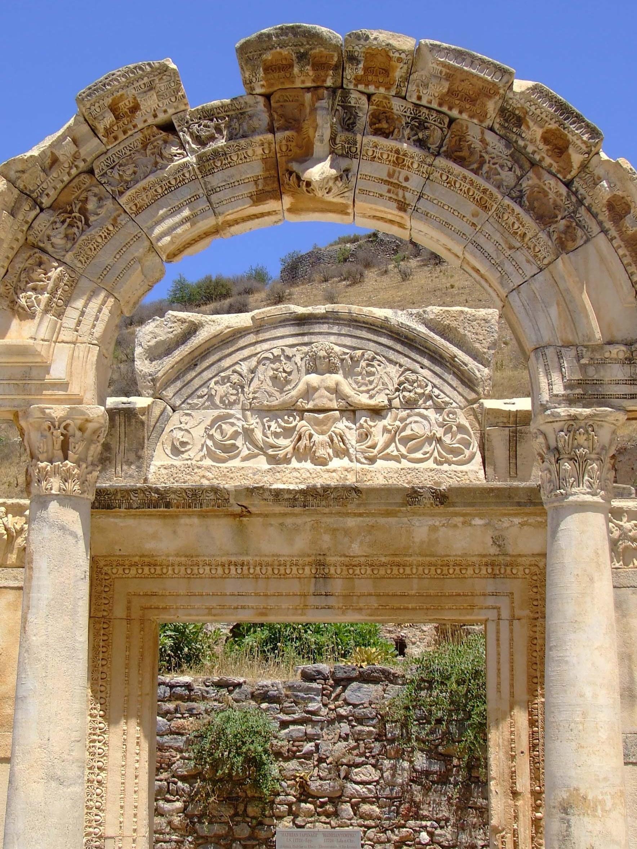 Temple of Hadrian - Ephesus