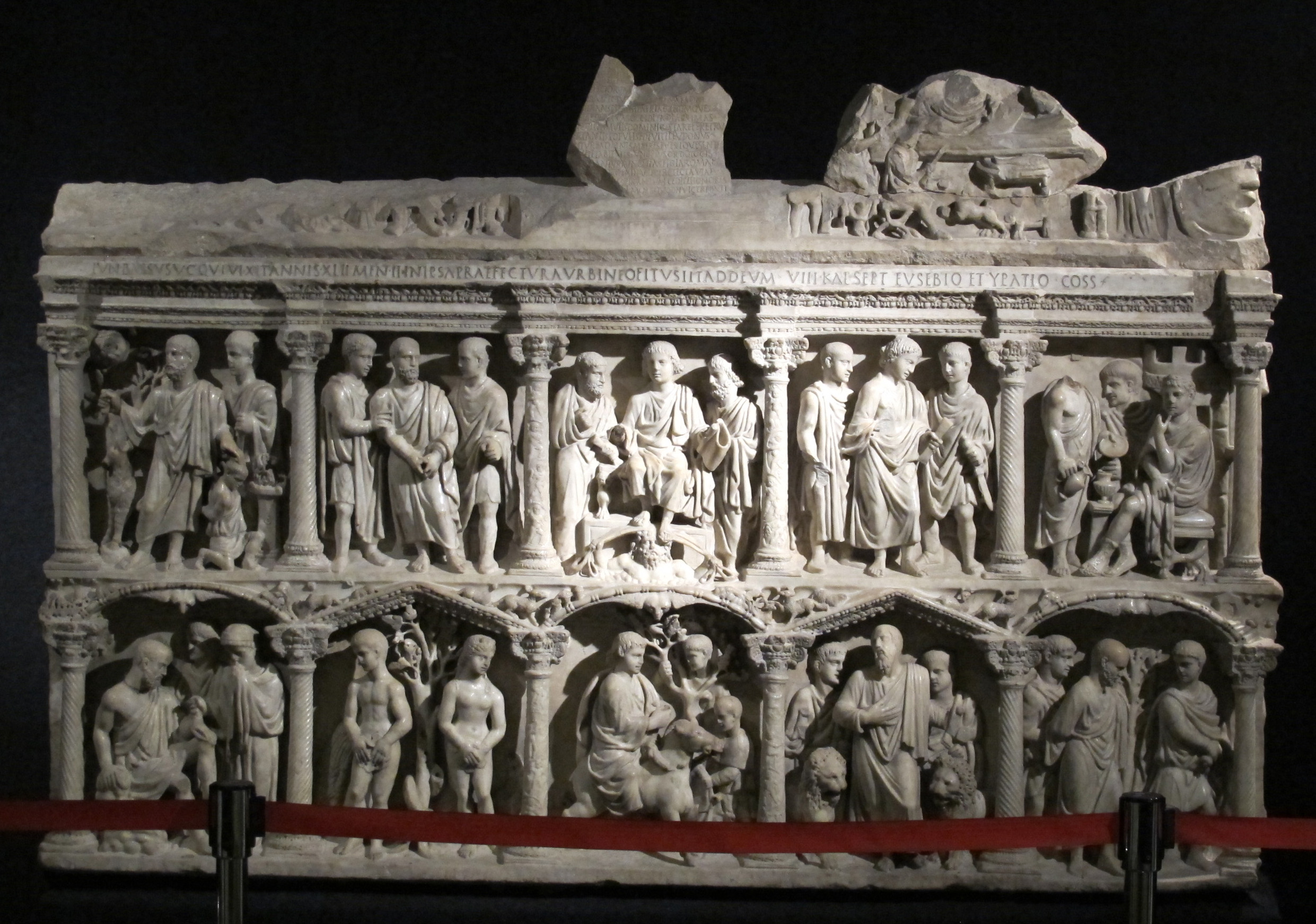Sarcophagus of Junius Bassus