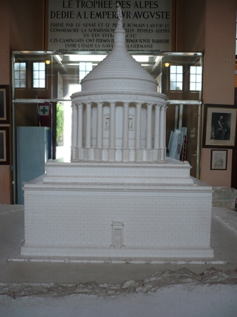 Reconstruction of the Tropaeum Alpium
